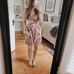 American Eagle Boho Summer Dress
